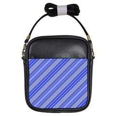 Lines Girl s Sling Bag by Siebenhuehner