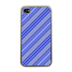 Lines Apple Iphone 4 Case (clear) by Siebenhuehner