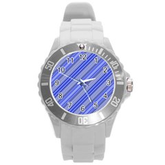 Lines Plastic Sport Watch (large) by Siebenhuehner