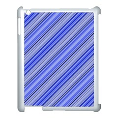 Lines Apple Ipad 3/4 Case (white) by Siebenhuehner