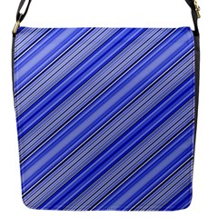 Lines Flap Closure Messenger Bag (small) by Siebenhuehner