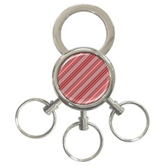 Lines 3 Ring Key Chain by Siebenhuehner