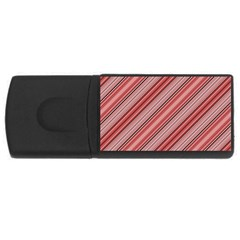 Lines 4gb Usb Flash Drive (rectangle) by Siebenhuehner