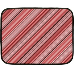 Lines Mini Fleece Blanket (two Sided) by Siebenhuehner