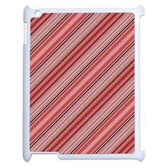 Lines Apple Ipad 2 Case (white) by Siebenhuehner