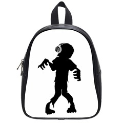 Zombie Boogie School Bag (small) by willagher