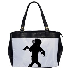 Zombie Boogie Oversize Office Handbag (one Side) by willagher