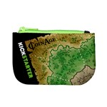 Coin Age - Kickstarter Coin Purse (4.5  x 2.75 ) - Dark Green Back - Mini Coin Purse