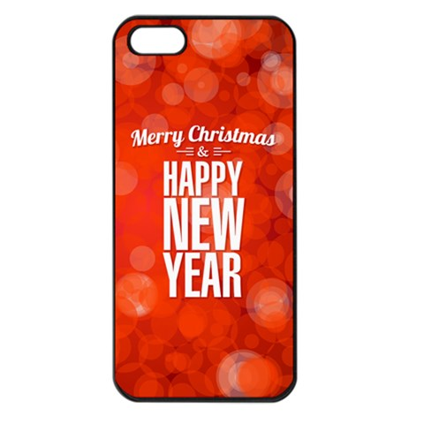 New Year By Divad Brown   Apple Iphone 5 Seamless Case (black)   Nvvco8dzzlke   Www Artscow Com Front