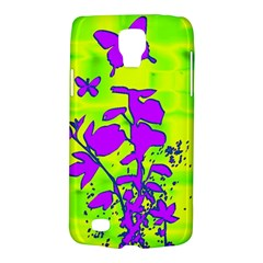Butterfly Green Samsung Galaxy S4 Active (i9295) Hardshell Case by uniquedesignsbycassie