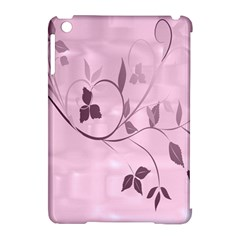 Floral Purple Apple Ipad Mini Hardshell Case (compatible With Smart Cover) by uniquedesignsbycassie