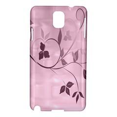 Floral Purple Samsung Galaxy Note 3 N9005 Hardshell Case