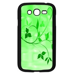 Floral Green Samsung Galaxy Grand Duos I9082 Case (black) by uniquedesignsbycassie