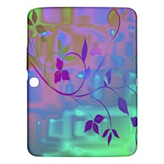 Floral Multicolor Samsung Galaxy Tab 3 (10 1 ) P5200 Hardshell Case  by uniquedesignsbycassie