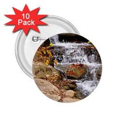 Waterfall 2.25  Button (10 pack)