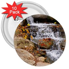 Waterfall 3  Button (10 Pack) by uniquedesignsbycassie