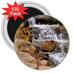 Waterfall 3  Button Magnet (100 Pack) by uniquedesignsbycassie