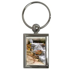 Waterfall Key Chain (rectangle) by uniquedesignsbycassie