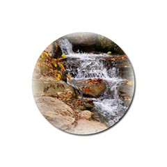 Waterfall Drink Coasters 4 Pack (round) by uniquedesignsbycassie