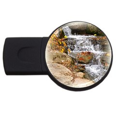 Waterfall 1GB USB Flash Drive (Round) by uniquedesignsbycassie