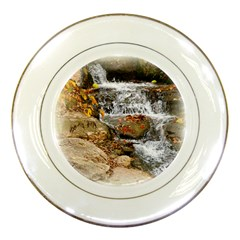Waterfall Porcelain Display Plate by uniquedesignsbycassie