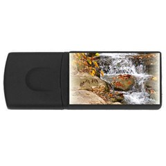 Waterfall 4gb Usb Flash Drive (rectangle) by uniquedesignsbycassie