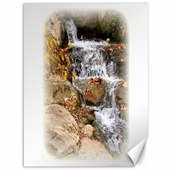 Waterfall Canvas 36  X 48  (unframed) by uniquedesignsbycassie