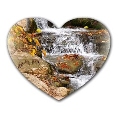 Waterfall Mouse Pad (heart) by uniquedesignsbycassie
