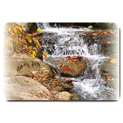Waterfall Large Door Mat by uniquedesignsbycassie