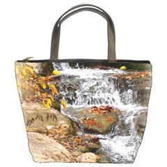 Waterfall Bucket Handbag by uniquedesignsbycassie