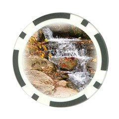 Waterfall Poker Chip (10 Pack) by uniquedesignsbycassie