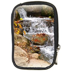 Waterfall Compact Camera Leather Case by uniquedesignsbycassie