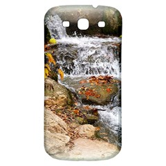Waterfall Samsung Galaxy S3 S Iii Classic Hardshell Back Case by uniquedesignsbycassie