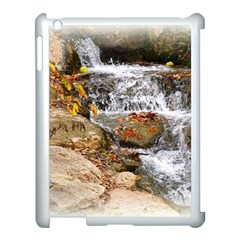 Waterfall Apple Ipad 3/4 Case (white) by uniquedesignsbycassie