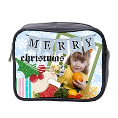 Xmas By Joely   Mini Toiletries Bag (two Sides)   Isx5e22a3fp8   Www Artscow Com Front