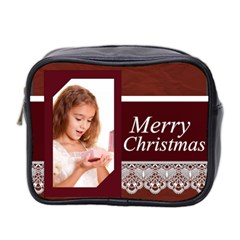 Xmas By Joely   Mini Toiletries Bag (two Sides)   1n14pcq740gn   Www Artscow Com Front