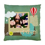 travel - Standard Cushion Case (Two Sides)