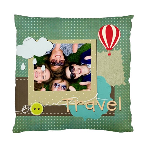 Travel By Travel   Standard Cushion Case (one Side)   X2yck7jhxj3p   Www Artscow Com Front