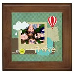 travel - Framed Tile
