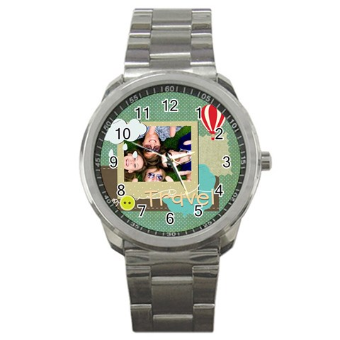Travel By Travel   Sport Metal Watch   95tz19nkisbz   Www Artscow Com Front