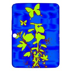 Butterfly Blue/green Samsung Galaxy Tab 3 (10 1 ) P5200 Hardshell Case