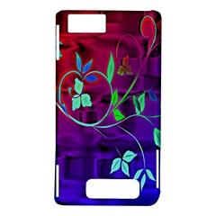 Floral Colorful Motorola Droid X / X2 Hardshell Case