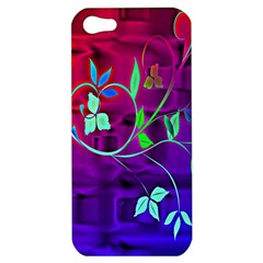 Floral Colorful Apple iPhone 5 Hardshell Case