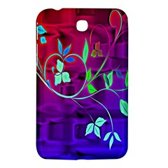 Floral Colorful Samsung Galaxy Tab 3 (7 ) P3200 Hardshell Case  by uniquedesignsbycassie