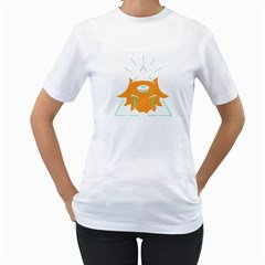 Keeper Womens  T Shirt (white) by Contest1810159