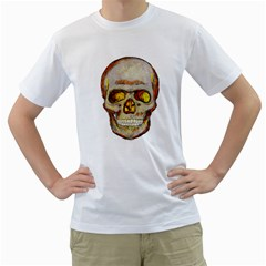 Warm Skull Mens  T Shirt (white) by Contest1775858