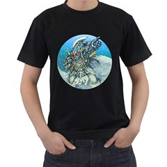 Viking Commander Mens' Two Sided T Shirt (black) by Contest1731890