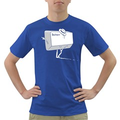 Backspace Mens' T Shirt (colored)