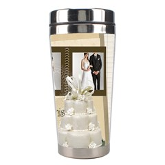 Wedding By Paula Green   Stainless Steel Travel Tumbler   5vcb8uuf3psq   Www Artscow Com Right