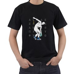 Take Your Hat Off ! Mens' T Shirt (black) by Contest1761904